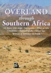Cover of: Overland through Southern Africa | Willie Olivier