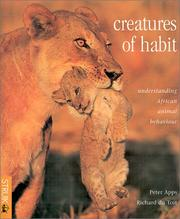 Cover of: Creatures of Habit | Peter Abbs