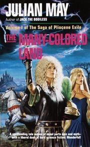 Cover of: THE MANY-COLORED LAND