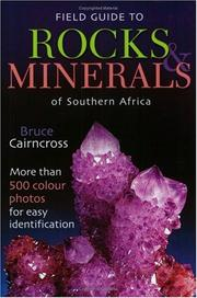 Cover of: Field guide to rocks & minerals of Southern Africa