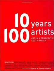 Cover of: 10 years 100 artists |