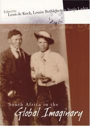Cover of: South Africa in the Global Imaginary (Imagined South Africa) |