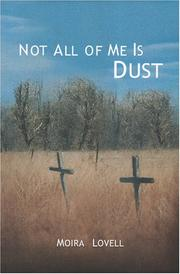 Cover of: Not all of me is dust