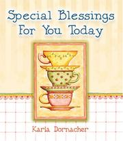 Cover of: Special Blessings for You Today