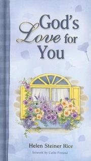 Cover of: God's Love for You (Helen Steiner Rice Products)