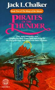 Cover of: Pirates of the Thunder (Rings of the Master, Book 2)