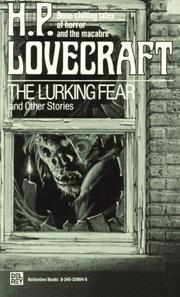 Cover of: The Lurking Fear and Other Stories