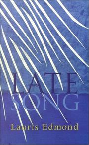 Cover of: Late song