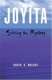 Cover of: Joyita