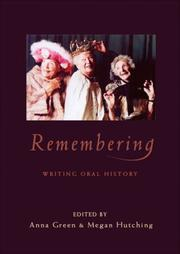 Cover of: Remembering