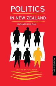 Cover of: Politics in New Zealand | R. G. Mulgan