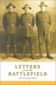 Cover of: Letters from the Battlefield | Glyn Harper