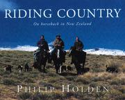 Cover of: Riding Country | Philip Holden