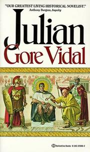 Cover of: Julian | Gore Vidal