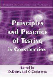 Principles & Practice of Testing in Construction by David Doran, Clive Cockerton