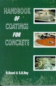 Cover of: Handbook of coatings for concrete |