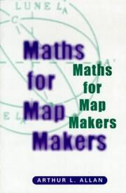 Cover of: Maths for map makers