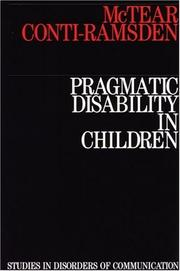 Cover of: Children With Language Disorders | Janet Lees