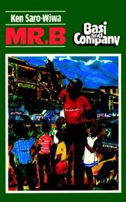Cover of: Mr. B