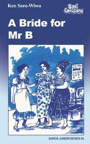 Cover of: The Bride for Mr. B