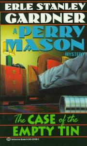 Cover of: The case of the empty tin