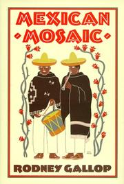 Cover of: Mexican mosaic