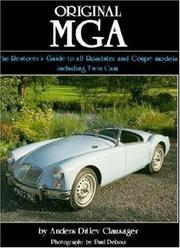 Cover of: Original MGA | Anders Ditlev Clausager