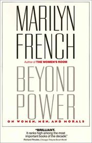 Cover of: Beyond Power | Marilyn French