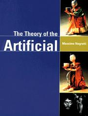 Cover of: Theory of the artificial