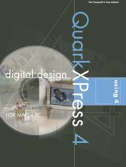 Cover of: Digital design using QuarkXPress 4 by