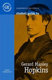 Cover of: Student Guide to Gerard Manley Hopkins (Student Guides)