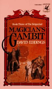Cover of: Magician's Gambit (The Belgariad, Book 3)