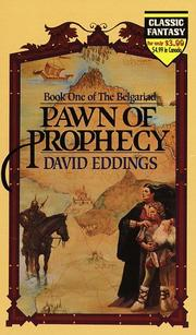 Cover of: Pawn of Prophecy (The Belgariad Book 1)