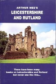 Cover of: Leicestershire and Rutland (The King's England)