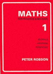 Cover of: Maths for Practice and Revision