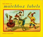 Cover of: Book of Matchbox Labels | Roger Fennings
