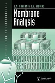 Cover of: Membrane Analysis (Introduction to Biotechniques)