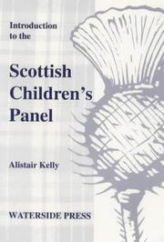 Cover of: Introduction to the Scottish children's panel