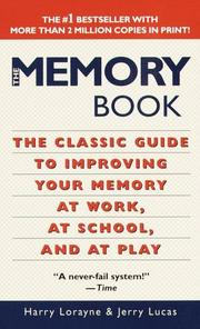 Cover of: The Memory Book | Harry Lorayne