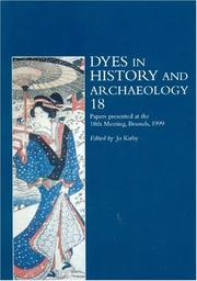 Cover of: Dyes in History and Archaeology