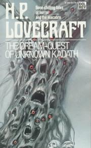 Cover of: The dream-quest of unknown Kadath