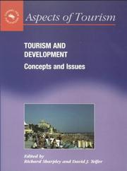 Cover of: Tourism & Development Concepts & Issues (Aspects of Tourism, 5) |