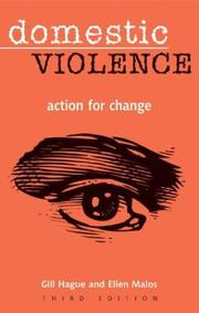 Cover of: DOMESTIC VIOLENCE: ACTION FOR CHANGE