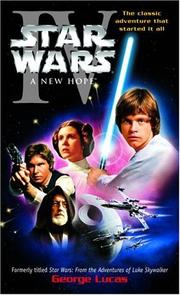 Cover of: Star Wars, Episode IV - A New Hope