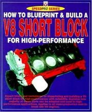 Cover of: How to Build a V-8 Short-Block for High Performance (Speed Pro) | Des Hammill