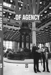 Cover of: Law of Agency | Stone.