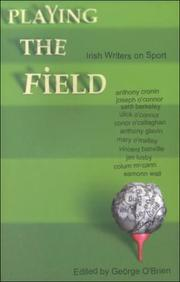 Cover of: Playing the Field