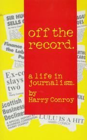 Cover of: Off the record