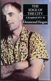 Cover of: The Edge of a City | Desmond Hogan