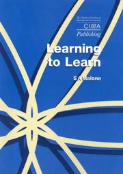 Cover of: Learning to Learn | Sam Malone